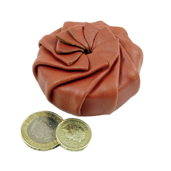 Leather Coin / Tinder Pouch