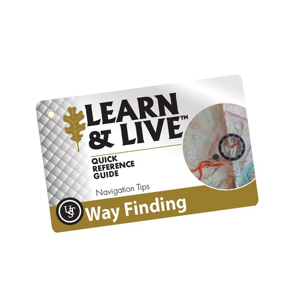 UST Way Finding Survival Cards