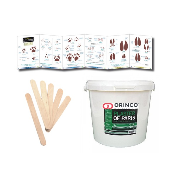 Animal Tracks Casting Kit