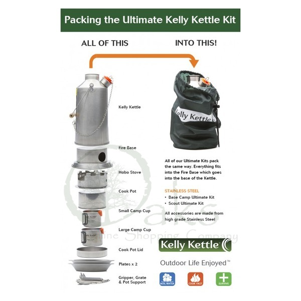 Ultimate Kelly Kettle Kits