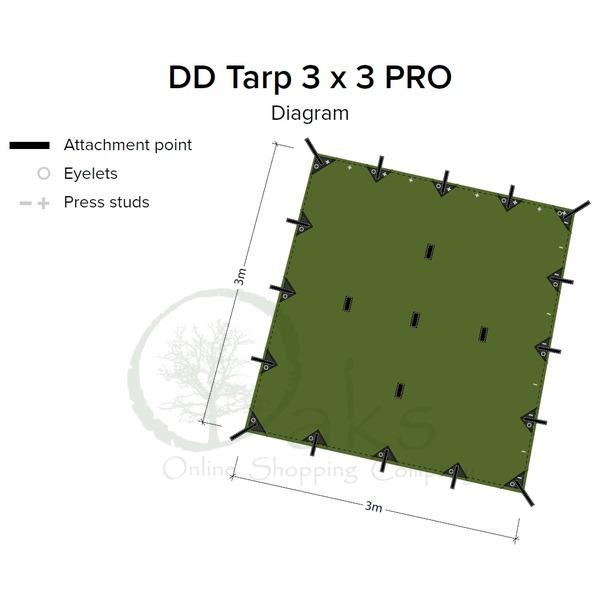 DD Tarp 3x3 Pro