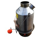 Kelly Kettle Medium Stainless Steel 'Scout' 1.1 Litre