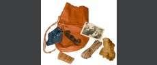 Traditional Firelighting Kit & Leather Pouch