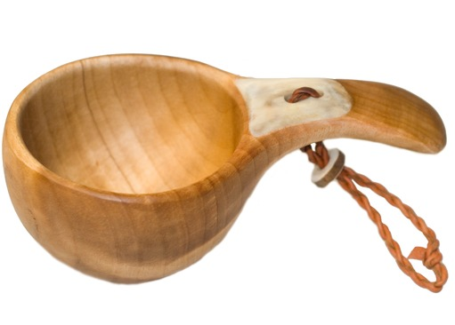 Kuksa with Reindeer Antler Inlay