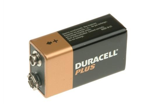 DURACELL 9V Cell Alkaline Batteries