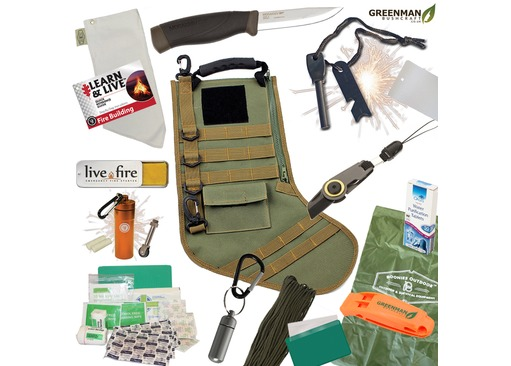Bushcraft Christmas Stocking Gift Set