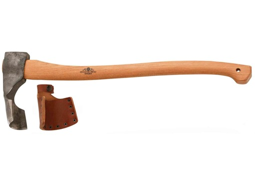 Gransfors Gutter Adze Long Handle Greenman Bushcraft
