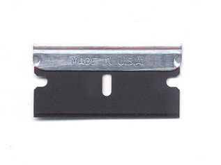 Aluminium Backed Single Edge Razor Blade