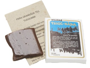 Woodsman Spruce Resin Chewing Gum