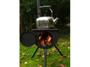 Frontier Stove Flashing Kit For Sheds from Busy Outdoors