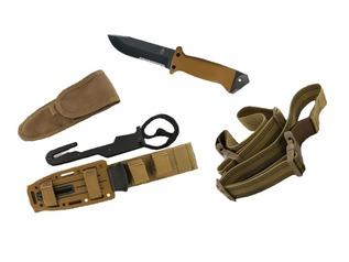 Gerber LMF II Survival Knife - Coyote Brown