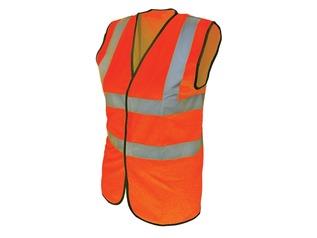 Hi-Vis Orange Waistcoat
