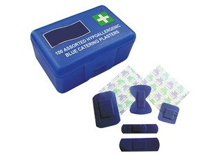 Blue Catering Plasters | 100 Box