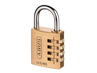 ABUS Brass Combination Padlock for Toolboxes
