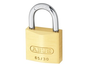 ABUS Brass Padlock and Keys