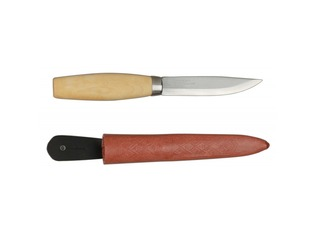 Frosts Woodcarving Knife with Leather Sheath