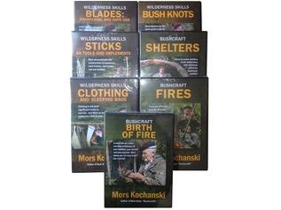 Mors Kochanski Bushcraft DVD: 'Bush Knots'