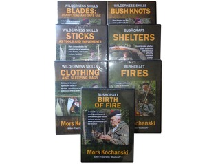 Mors Kochanski Bushcraft DVD: 'Blades'