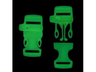 Glow In The Dark Whistle Buckles