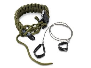 CRKT Onion Survival Para-Saw Bracelet