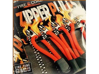 550 Fire Cord Zipper Pulls