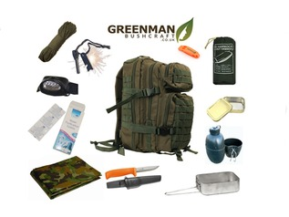 Greenman Preppers Bug Out Bag