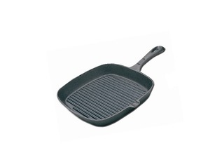 Cast Iron Ribbed Skillet