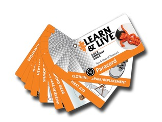 Live and Learn Paracord Cards