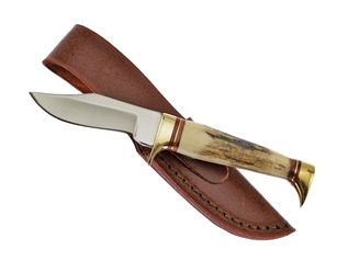 Stag Antler Bowie Knife