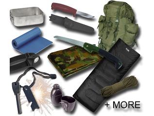 Budget Bushcraft Starter Kit for Under £100