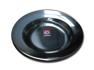 Zebra Stainless Steel Plate
