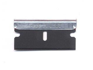 Steel Backed Single Edge Razor Blade