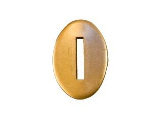 Brass Bolster Plate  (01)