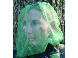 Olive Mosquito Head Net